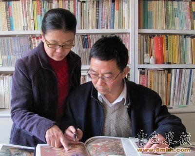 胡同庆与王义芝夫妇是一对敦煌学研究者