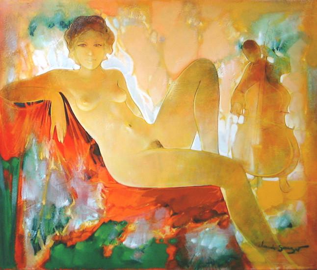 法国画家Claude Sauzet绘画作品欣赏
