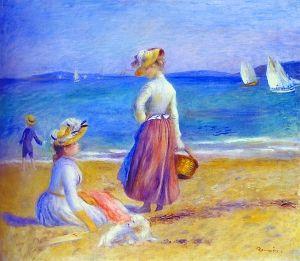 展出作品《海滩上的人》