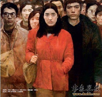 中国写实画派的市场号召力