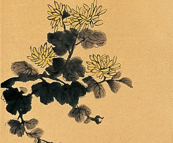 林玉梅绘画作品 四条屏