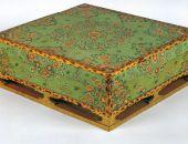 唐代绘画艺术专题展《绿地彩绘箱》
