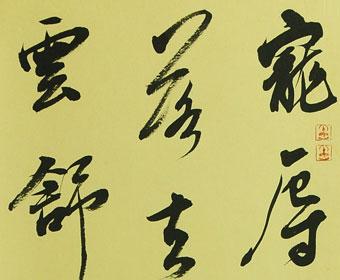 张泓书法作品欣赏之小斗方-小楷书法欣赏心经 心经小楷书法作品欣赏