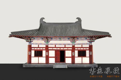 五台山南禅寺大殿模型