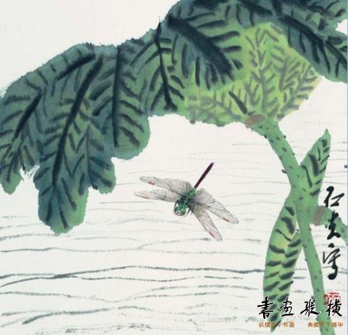 郭石夫大写意花鸟画展杭州开幕