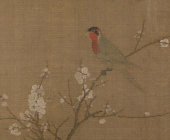 宋 赵佶 五色鹦鹉图 故宫博物院藏