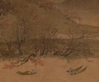 北宋 惠崇 溪山春晓图 故宫博物院藏