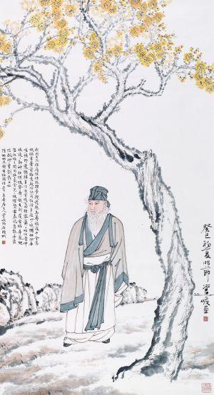 手绘书画社团招新海报