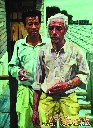 刘晓东 《父与子》图片