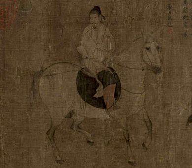 北宋 佚名 游骑图 故宫博物院藏