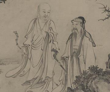 北宋 张激(传) 白莲社图卷 辽宁省博物馆藏