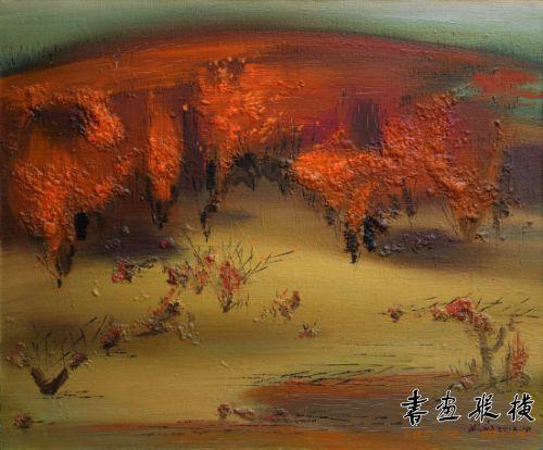 环保艺术行:四个人的胡杨树艺术展开幕