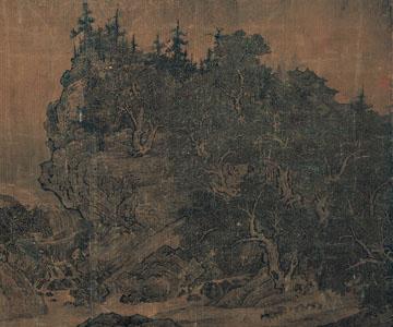宋 范宽 溪山行旅图 台北故宫博物院藏