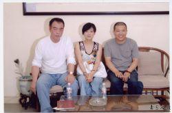 王登科与陈凯歌夫妇