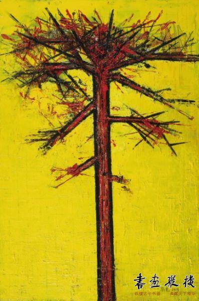 杨光 心象—风景系列之五,2013年,尺寸:100x150cm,材质:布面丙烯