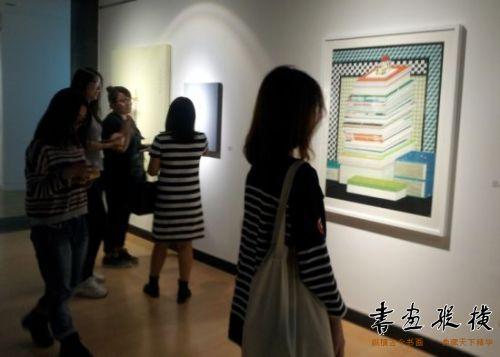 本次展览由两国美术界最具有代表性的40名青年艺术家图片