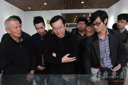 """北京水墨公益基金会提名""""重庆市十大青年书法家""""作品展在京开幕图片"""