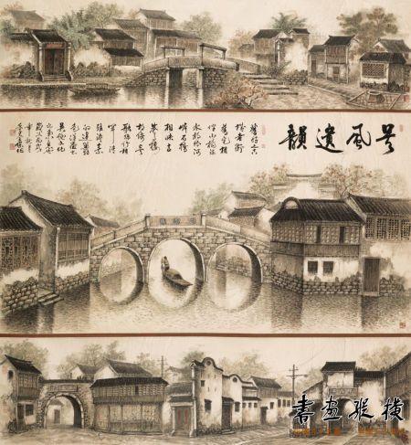 季全保 吴风遗韵 139x138cm 2006