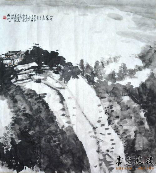 杨中良、高英柱、王秋人作画、舒杰题记