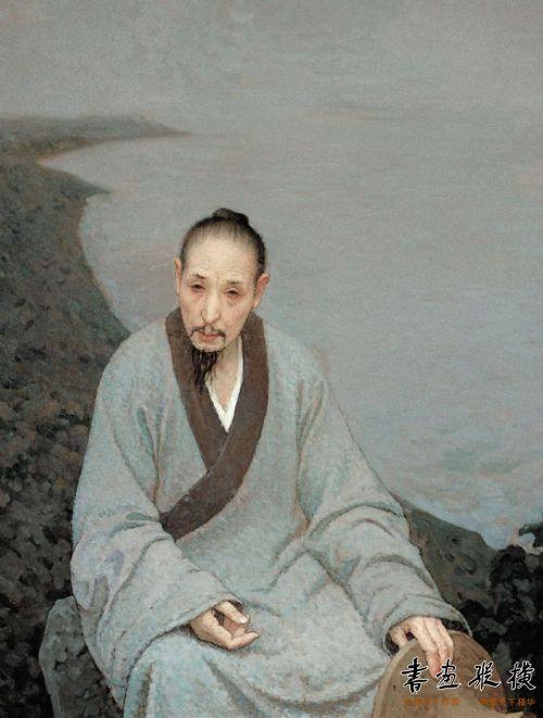 靳尚谊作《八大山人》