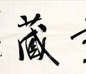 """陈志平 """"无尽藏""""横幅"""