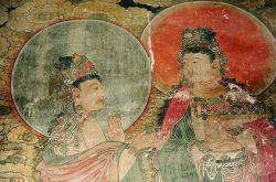 山西广胜上寺毗卢殿壁画:十二圆觉菩萨图