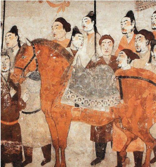 北齐徐显秀墓壁画