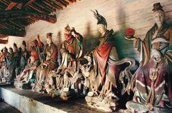 中国古代雕塑艺术的绝品--- 元代彩塑《二十八星宿》