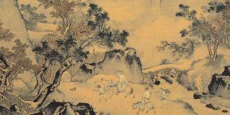 明 王世昌 山水图 台北故宫博物院藏