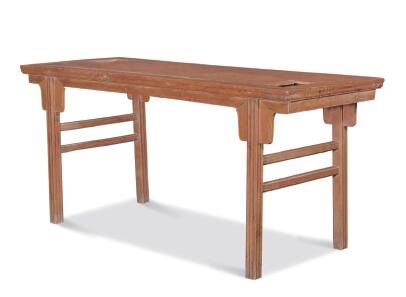 王世襄旧藏  黄花梨琴桌