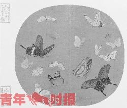 《晴春蝶戏图》