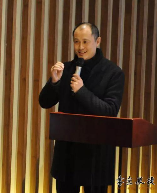 ◎北京水墨艺术馆馆长、本次活动组委会主任舒杰致辞◎