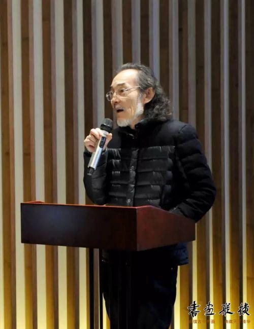 ◎中国书法家协会考级中心主任崔志强讲话◎