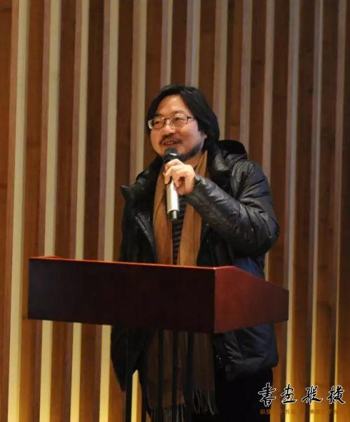 ◎中国国家画院教学中心副主任马啸讲话◎
