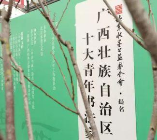 """北京水墨公益基金会提名""""广西壮族自治区十大青年书法家""""作品展在京开幕"""