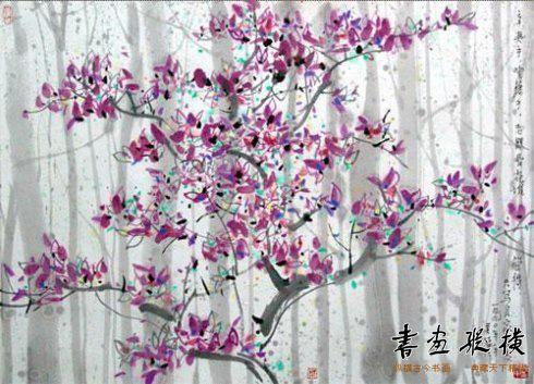 吴冠中笔下春天的树怎么可以这样美