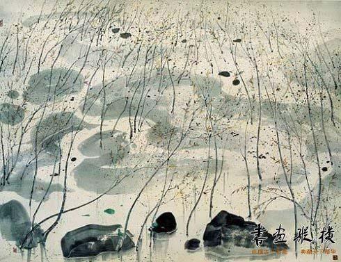 吴冠中笔下春天的树怎么可以这样美_书画动态_新闻