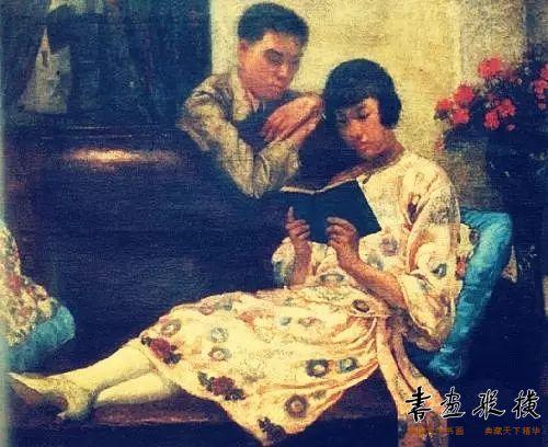 徐悲鸿画中的自己和蒋碧微