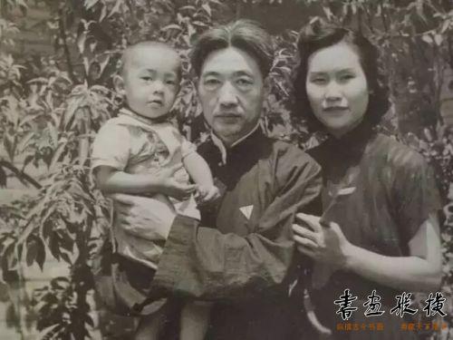 徐悲鸿和廖静文母子