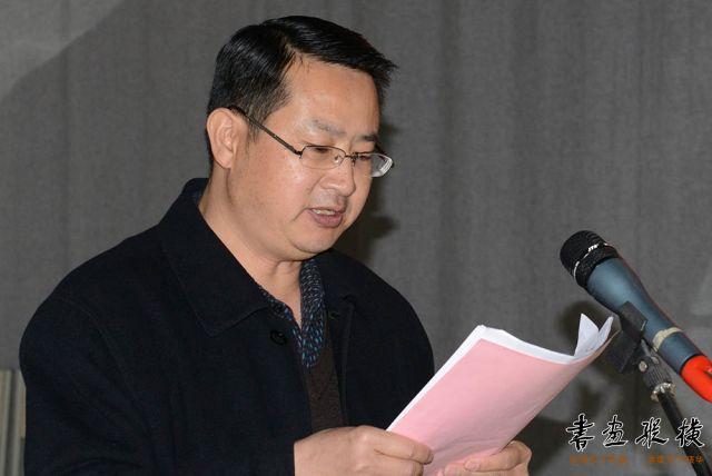 开展仪式由白银市文广新局副局长顾克严主持