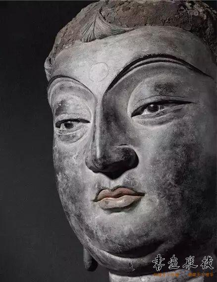 ▲唐 干漆夹苎佛头像
