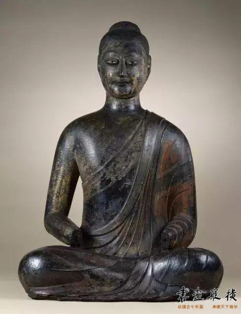 ▲干漆佛像 隋朝(公元590年)     巴尔的摩沃尔斯特美术馆收藏