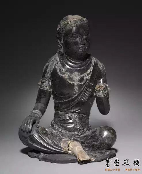 菩萨坐像 唐代晚期     克利夫兰美术馆收藏