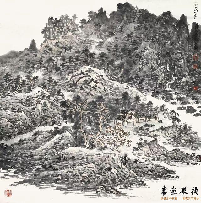山居图 66x66cm 纸本 2016