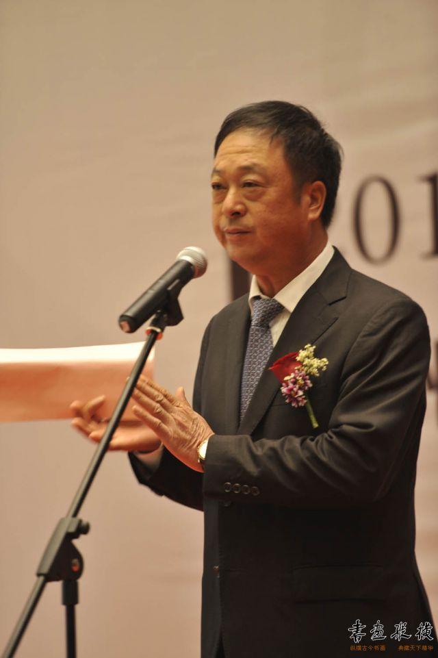 深圳市台州商会会长张成华先生致辞