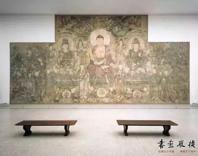 元 广胜寺《药师佛经变图》纽约大都会博物馆藏