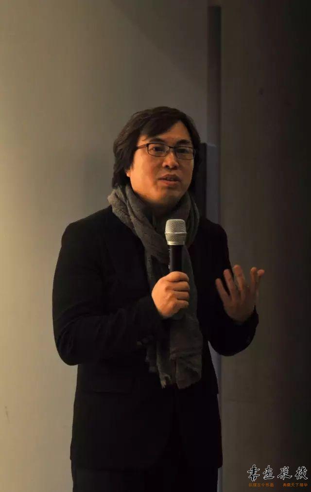 ▲一得阁有限公司董事长孟繁韶在开幕式现场发言