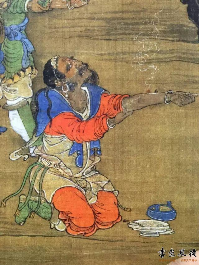 那时的颜料历千年如新 朱砂是冷艳的 石青是沉着的