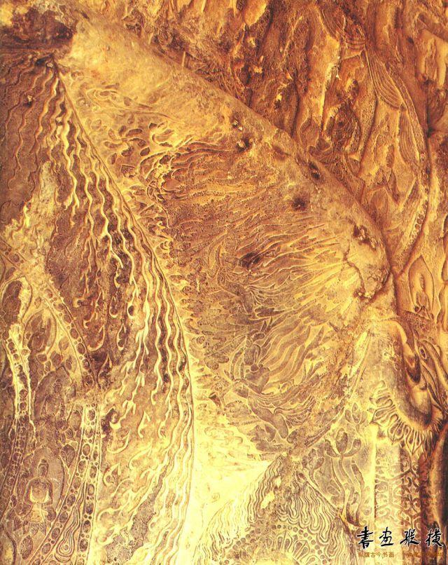 《比丘法生为孝文皇帝并北海王母子造像记》原石旧照局部