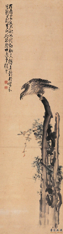 清 黄慎 鹰